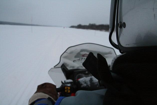 rovaniemi winter Lapland holidays - snowmobiling