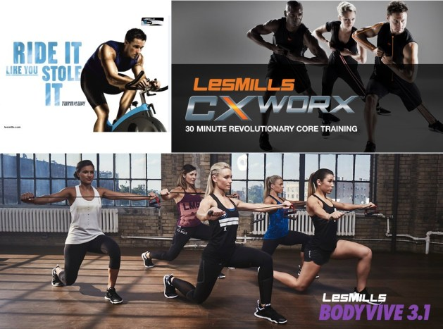working out while traveling - les mills