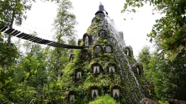 luxury hotels Montaña Mágica Lodge