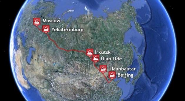Trans Mongolian Express