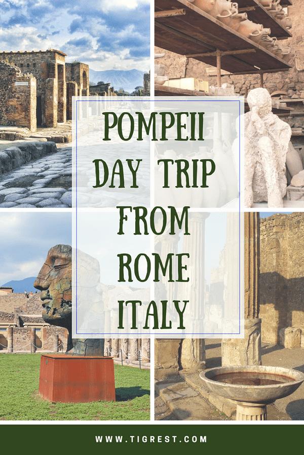 Pompeii day trip from Rome Italy #pompeii #pompeii from rome #italy #pompeii day trip #pompeii from naples
