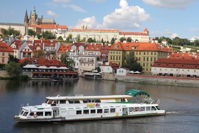Prague walking itinerary