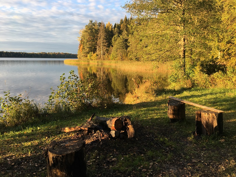 Lake Pühajärv hiking trail