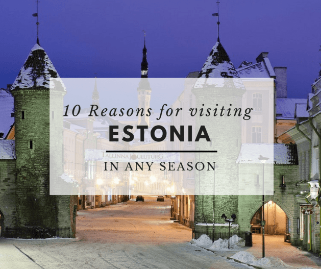 reasons for visiting Estonia