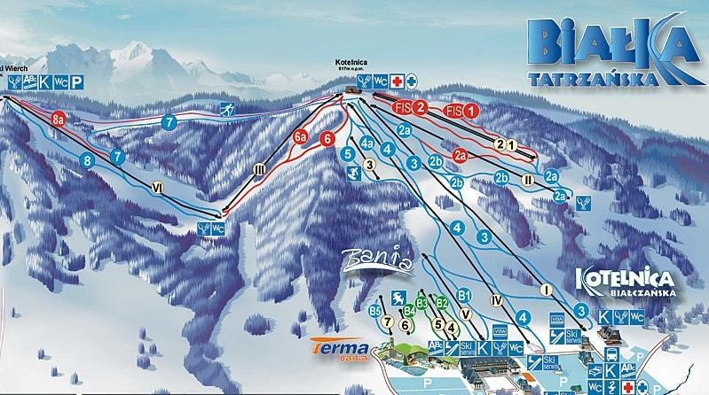 Cheap ski holidays Ryanair Zakopane
