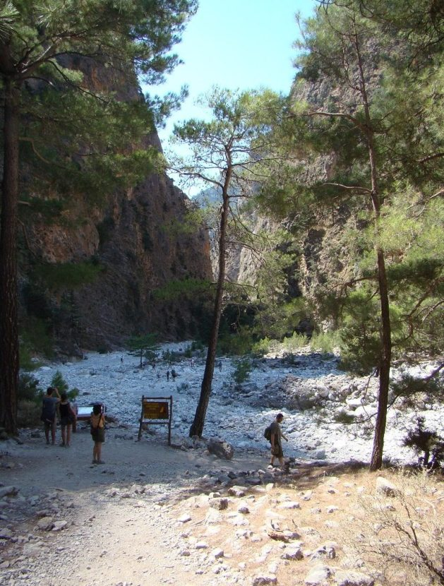 Samaria Gorge from Chania