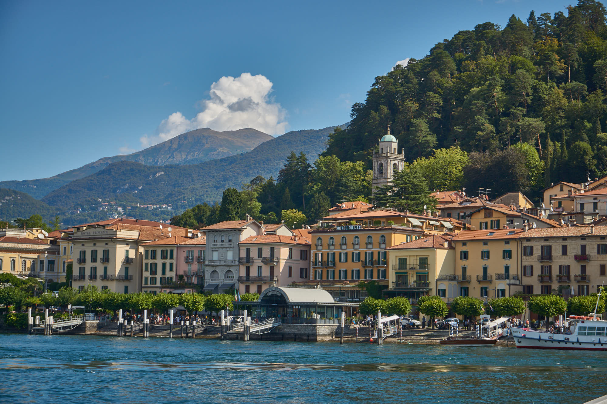 Lake Como One day cruise to Bellagio and Varenna