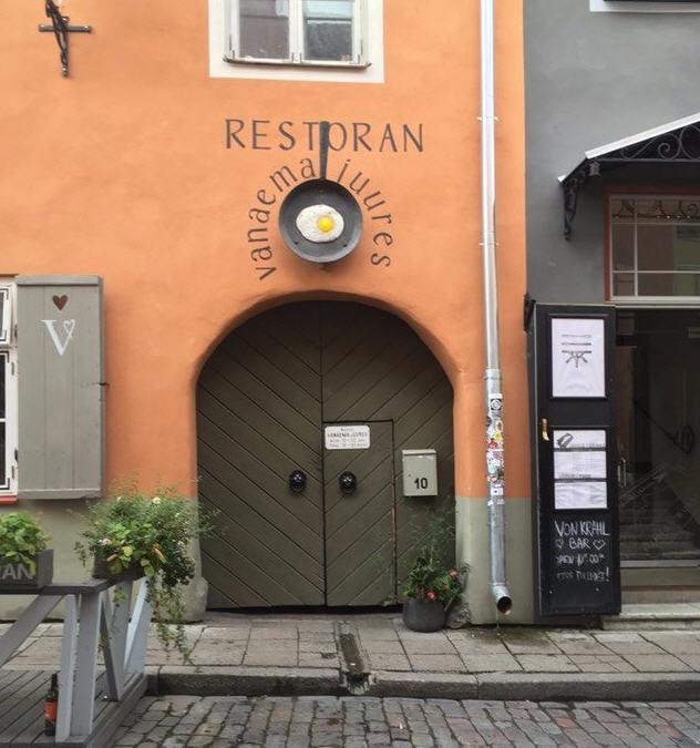 Vanaema Juures Restaurant Tallinn review