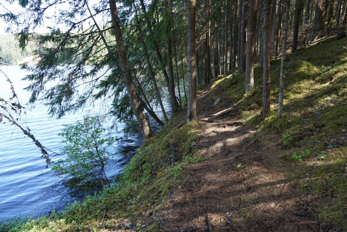 Hiking in Taevaskoja