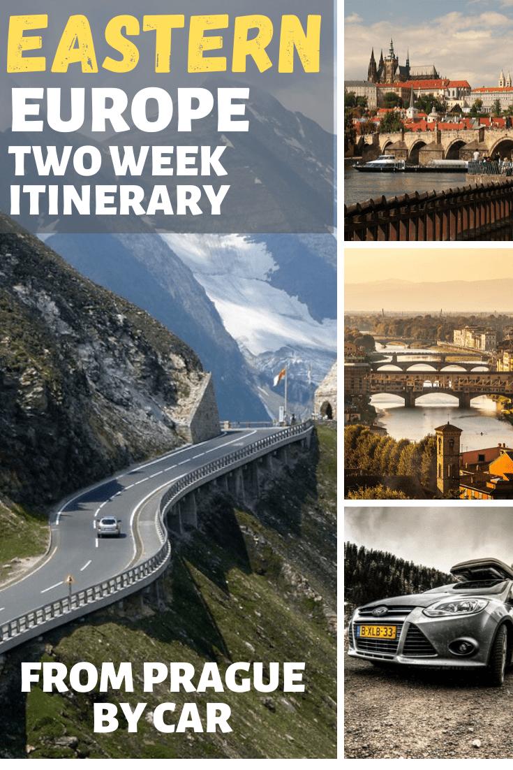 eastern europe 2 weeks from prague by car