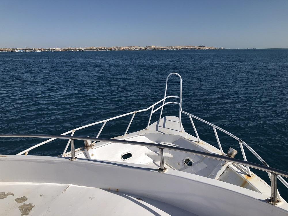 Hurghada snorkeling tour - boat