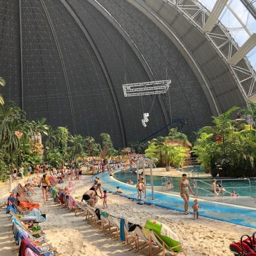 How to visit Tropical Islands water park from Berlin