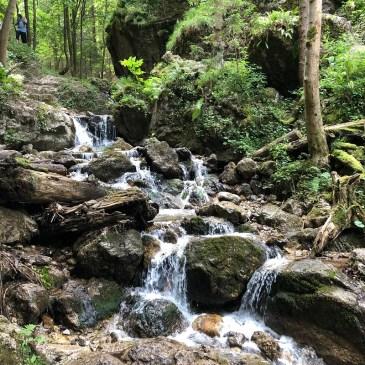 Hiking Janosikove diery in Slovakia