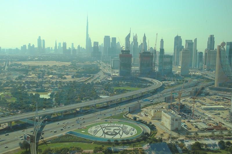 One day in Dubai Dubai Frame and Global village