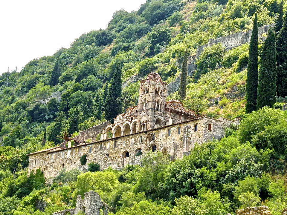 Mystras Greece 10 days itinerary