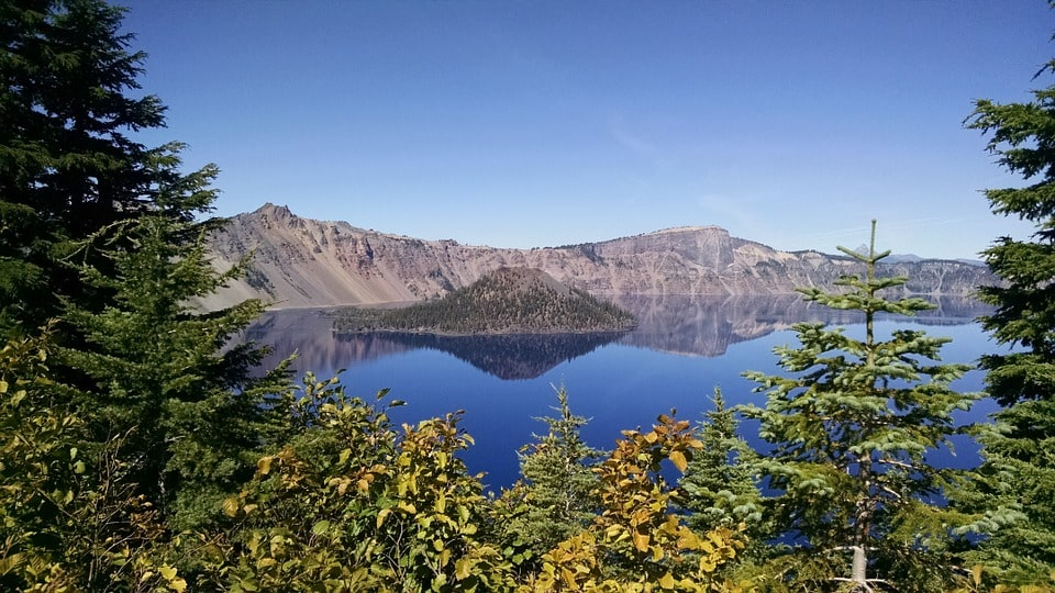 Seattle to San Francisco road trip - crater lake
