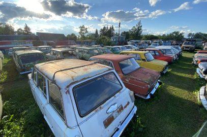 vintage vehicle shelter jarva jaani