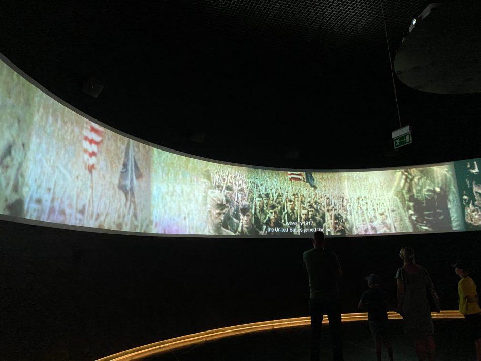 Museum of second world war gdansk poland