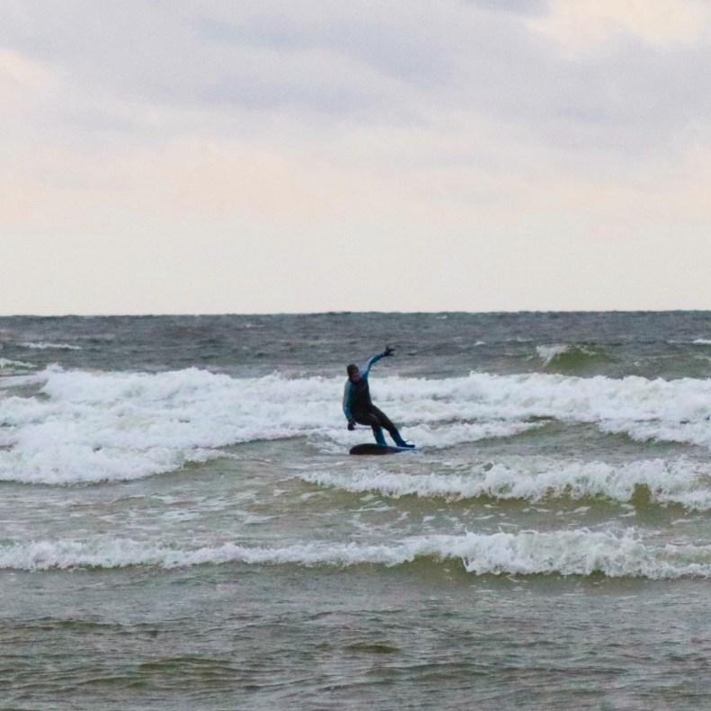 Water sports in Tallinn Estonia surfing