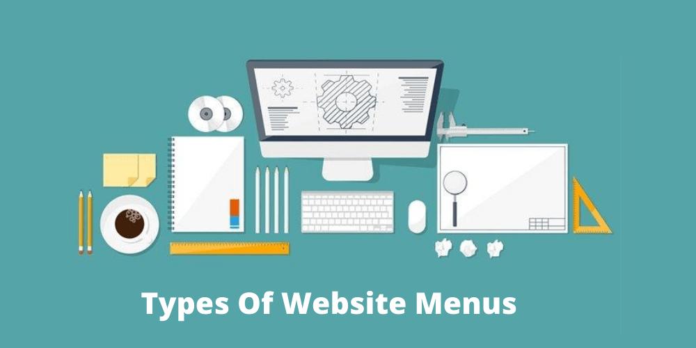 Types of Website menus