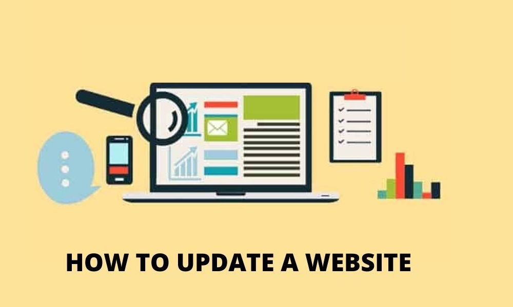 HOW TO UPDATE A WEBSITE