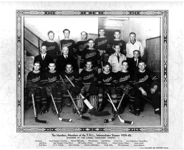 Toronto Island Hockey Team 1939-40