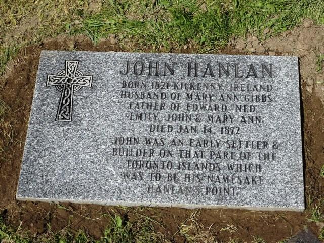 Family puts John Hanlan back on map