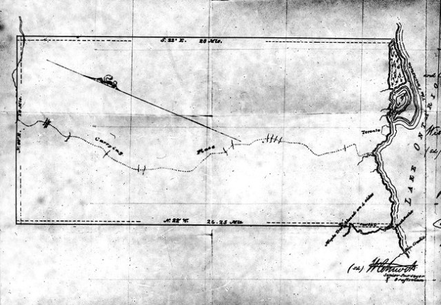 Map of the Toronto Purchase 1805