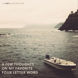 four letter word insta