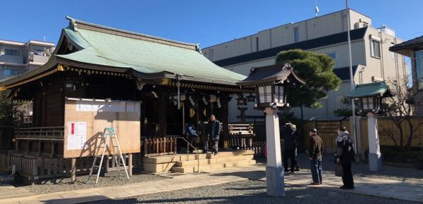 新井宿 春日神社