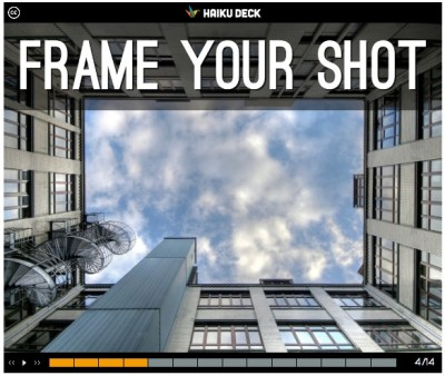 Educator Mike Pall created this HaikuDeck to offer students tips on shooting great Instagram videos.