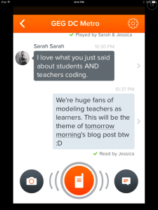 How to get started on Voxer