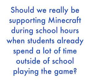 how teachers use minecraft