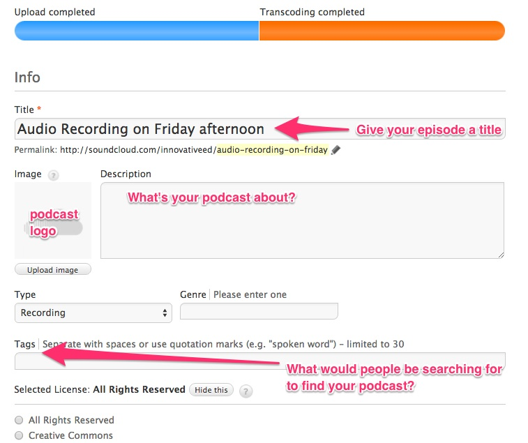 how to get started podcasting