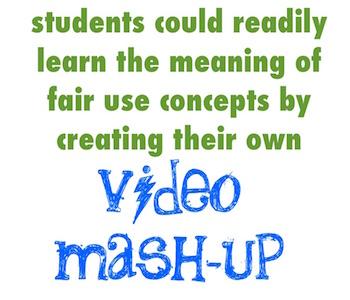 teaching copyright with digital mashups