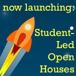 #ready2launch student-led open house