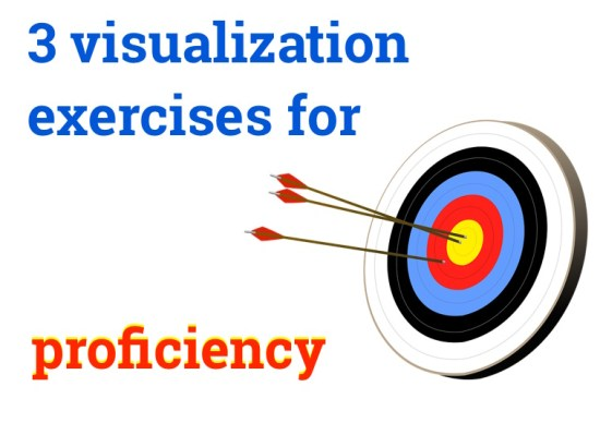 visualization exercises for proficiency