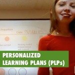 how can students reflect on their PLPs?