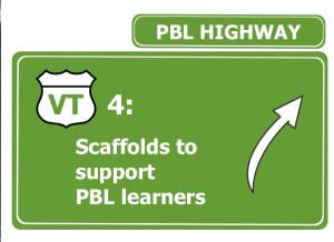 scaffolds to support PBL learners