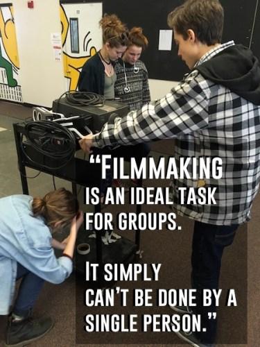 student-centered filmmaking