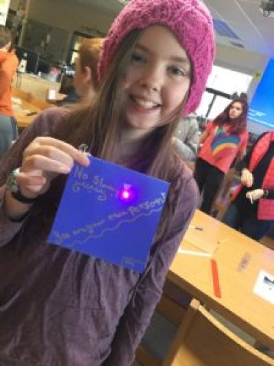Paper Circuits and Student