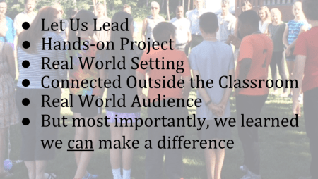 how to tell your PBL story