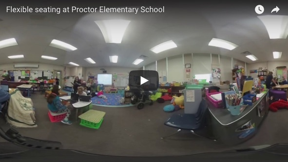 Flexible classrooms Proctor Elementary School