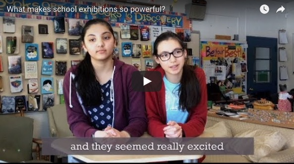 what makes school exhibitions so powerful?