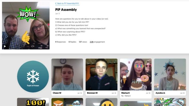 flipgrid for reflection