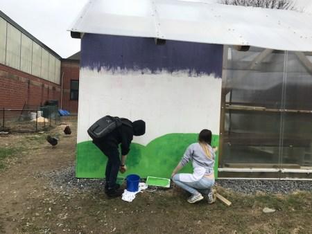 Crossett Brook mural