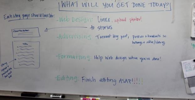 a student-led short story unit