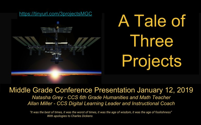 """""""A Tale of Three Projects"""""""