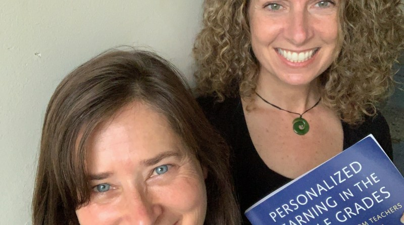 Jeanie Phillips & author and professor Penny Bishop on #vted Reads