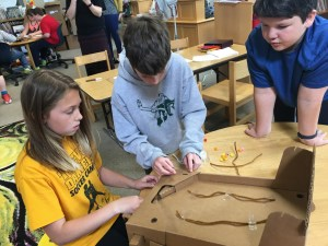 making with cardboard and Self-Direction and Self-Directed Learning
